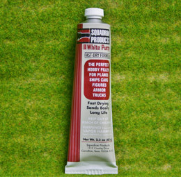 Squadron WHITE PUTTY, FILLER Model Tools
