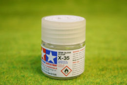 Tamiya Color ACRYLIC SEMI GLOSS CLEAR Acrylic Mini Paint X35 10mls