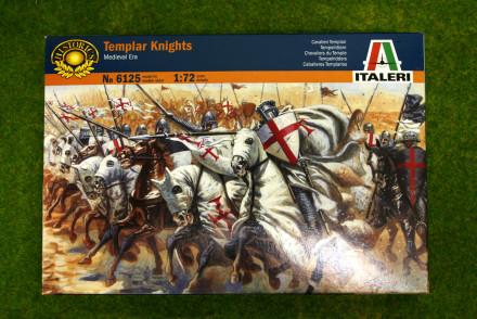 1:72 Scale TEMPLAR KNIGHTS Medieval era Italeri 6125