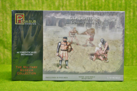 Pegasus 1/32 GLADIATORS 1st Century AD set 3202