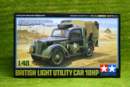 Tamiya BRITISH LIGHT UTILITY CAR 10HP 1/48 SCALE KIT 32562