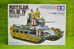Tamiya BRITISH MATILDA Mk III/IV Infantry Tank 1/35 Scale Kit 300