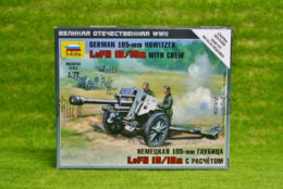Zvezda GERMAN 105mm Howitzer & crew 1/72 scale 6121