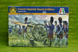 French Imperial Guard Artillery 1/72 Italeri 6135