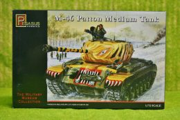 Pegasus 1/72  M-46 PATTON MEDIUM TANK 7506