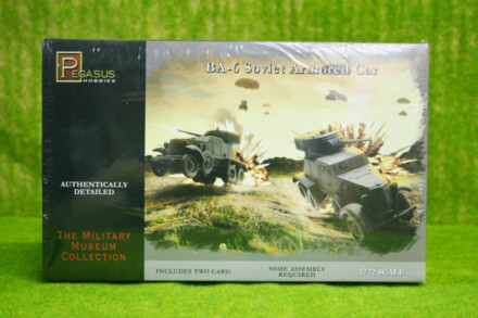 Pegasus 1/72 WW2 BA-6 Soviet Armoured Car 7672