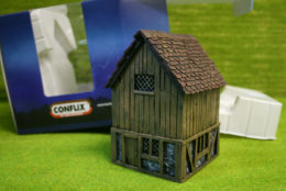 Conflix HOUSE WITH HAY LOFT PKCX6803 28mm Scenery & Terrain