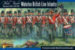 WATERLOO BRITISH LINE INFANTRY Black Powder 28mm
