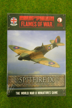 Flames of War British SPITFIRE IX 1/144th Scale AC013