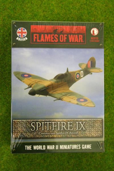 Flames of War British SPITFIRE IX 1/144th Scale AC013