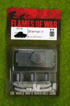 Flames of War SHERMAN V British Tank 15mm BR120