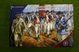 Perry Miniatures CONTINENTAL INFANTRY 1775-1783 American War of Independence 28mm