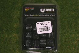 Bolt Action ORDERS DICE SET of 12 – BLACK
