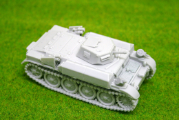 "1/48 scale – 28mm WW2 GERMAN Panzer II Flamm ""Flamingo"" 28mm Blitzkrieg Miniatures"