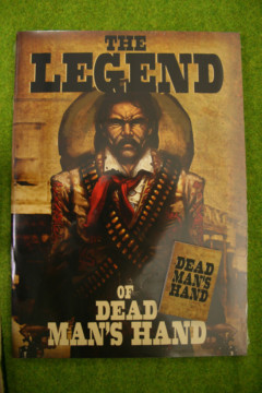 THE LEGEND OF DEAD MANS HAND SUPPLEMENT for Old west Skirmish games