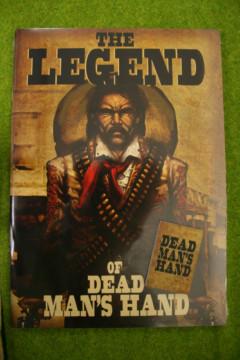 THE LEGEND OF DEAD MANS HAND SUPPLEMENT for Old west Skirmish games