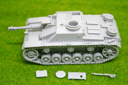 1/56 scale – 28mm WW2 GERMAN StuH 42 28mm Blitzkrieg miniatures