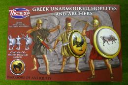 Victrix GREEK UNARMOURED HOPLITES & ARCHERS  28mm plastic VXA005