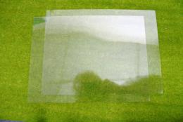 2 sheets of CLEAR Plasticard 10/000 Terrain & Scenery