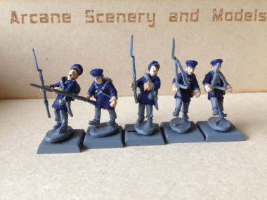 Prussian Landwehr Casulaties from Warlord Games