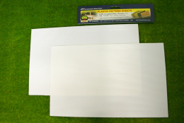 CORRUGATED SIDING PACK OF 2 SHEETS HO scale ( 1/100th Scale) LS97402