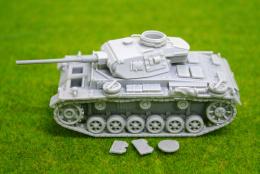 1/48 scale – 28mm WW2 PANZER III AUSF. J Blitzkrieg miniatures