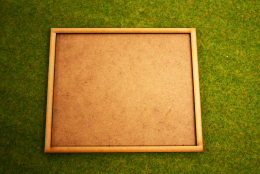 MDF laser cut MOVEMENT TRAY (10×5) 20mm Infantry Bases