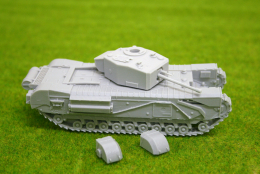 1/56 scale – 28mm WW2 CHURCHILL MKIII INFANTRY TANK 28mm Blitzkrieg miniatures