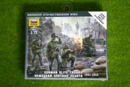 Zvezda GERMAN ELITE TROOPS 1941-1943 1/72 scale  6180