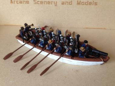 Napoleonic Gun Boat!