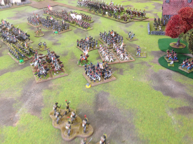 The French right wing attacking Papelotte