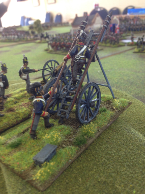 British Rocket Battery!