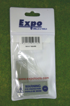"""Expo Tools 2"""" STAINLESS STEEL SQUARE 78215"""