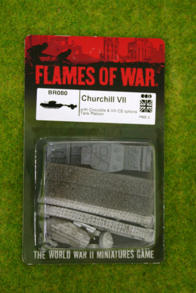 Flames of War CHURCHILL VII British Tank 15mm BR080