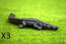 CROCODILES pack of 3 DeeZee Miniatures DZ16 28mm Wargames