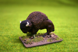 BISON- OLD BULL DZ19 DeeZee Miniatures 28mm Wargames