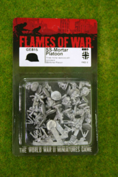 Flames of War GERMAN SS Mortar Platoon 15mm GE815