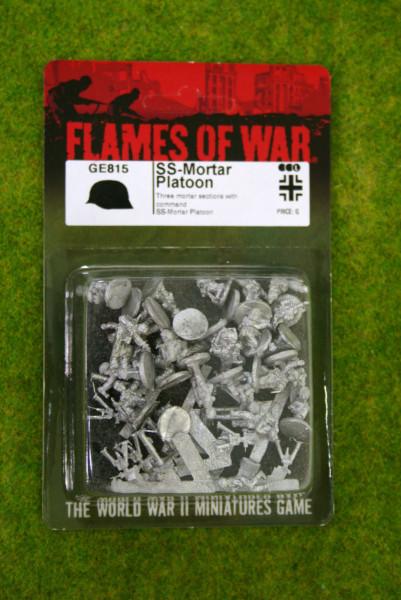 Flames of War GERMAN SS Mortar Platoon 15mm GE815