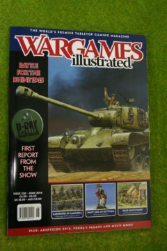 WARGAMES ILLUSTRATED ISSUE 320 June 2014 MAGAZINE