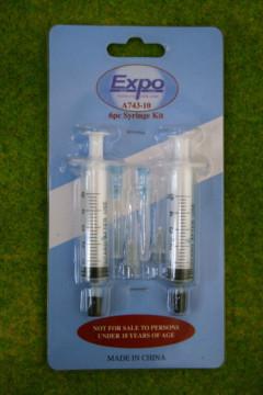 Expo Tools 6 PIECE SYRINGE APPLICATOR KIT A74310