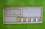 Laser cut MDF movement trays