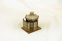 Gas Lamp Alley VICTORIAN PISSIOR PUBLIC CONVENIENCE MDF Building 28mm  G071