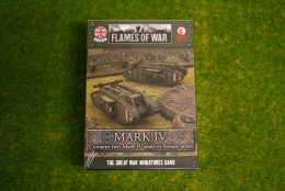 Flames of War British Mark IV Tank 15mm  GBBX01