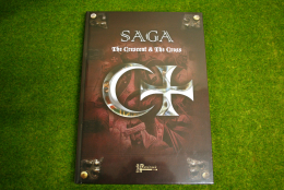 SAGA Crescent and the Cross Rulebook from GRIPPING BEAST