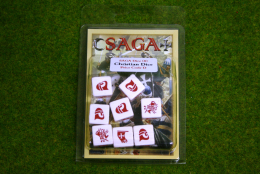 Saga Dice CHRISTIAN DICE SET Gripping Beast