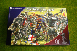 Perry Miniatures Foot Knights 1450-1500 28mm Plastic set