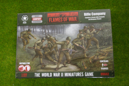 Flames of War U.S. RIFLE COMPANY 15mm UBX42