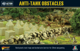 Anti-tank Obstacles Bolt Action Warlord Games 28mm SD