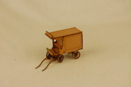Gas Lamp Alley HORSE DRAWN DELIVERY VAN MDF & Card 28mm G057