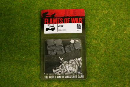 Flames of War British Jeeps 15mm BR410